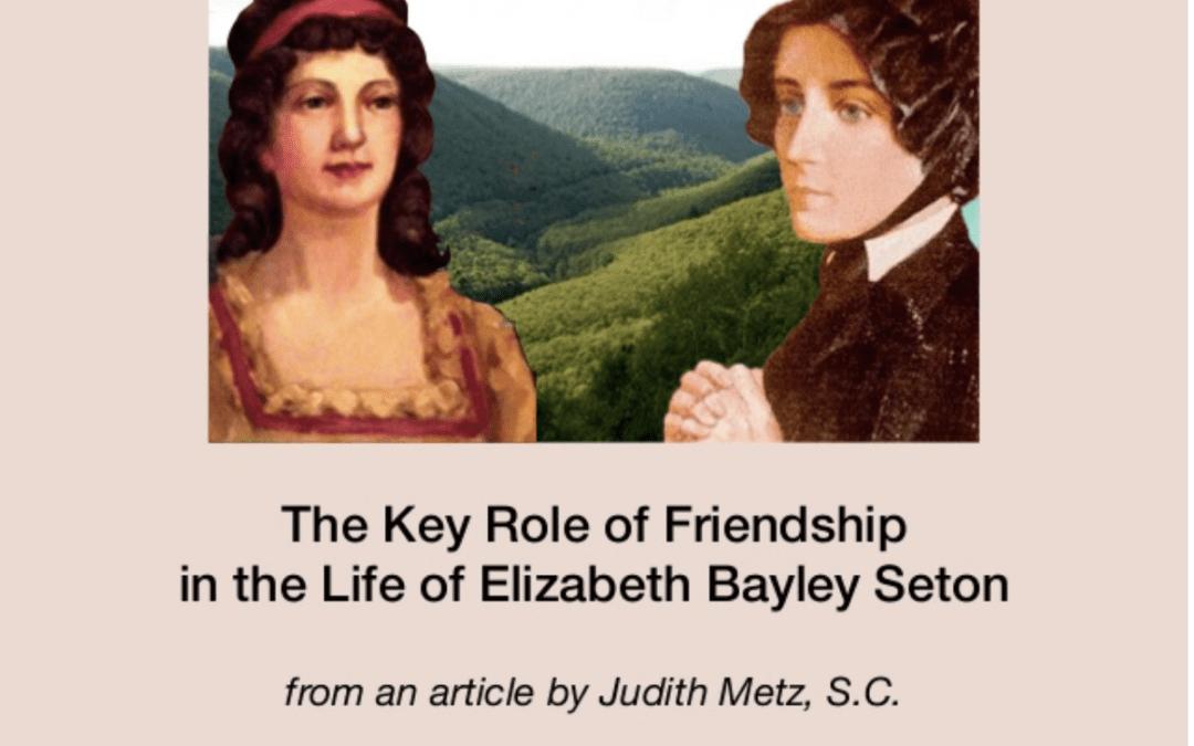 January 4 — Feast Day of Saint Elizabeth Ann Seton