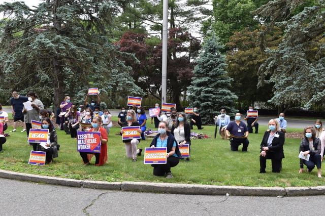 Saint Joseph's Medical Center and St. Vincent's Hospital Hold Unity Prayer Service on Racism