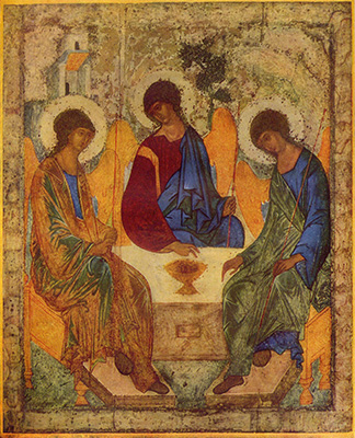 Trinity by Andrej Rublev