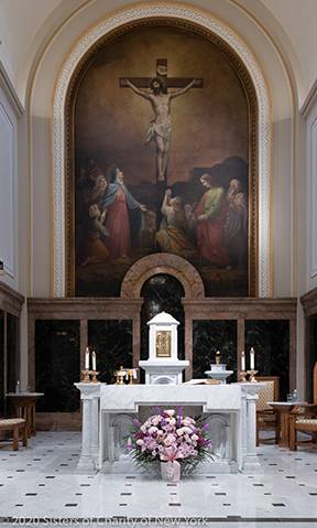 Jubilee Day in the Chapel of the Immaculate Conception