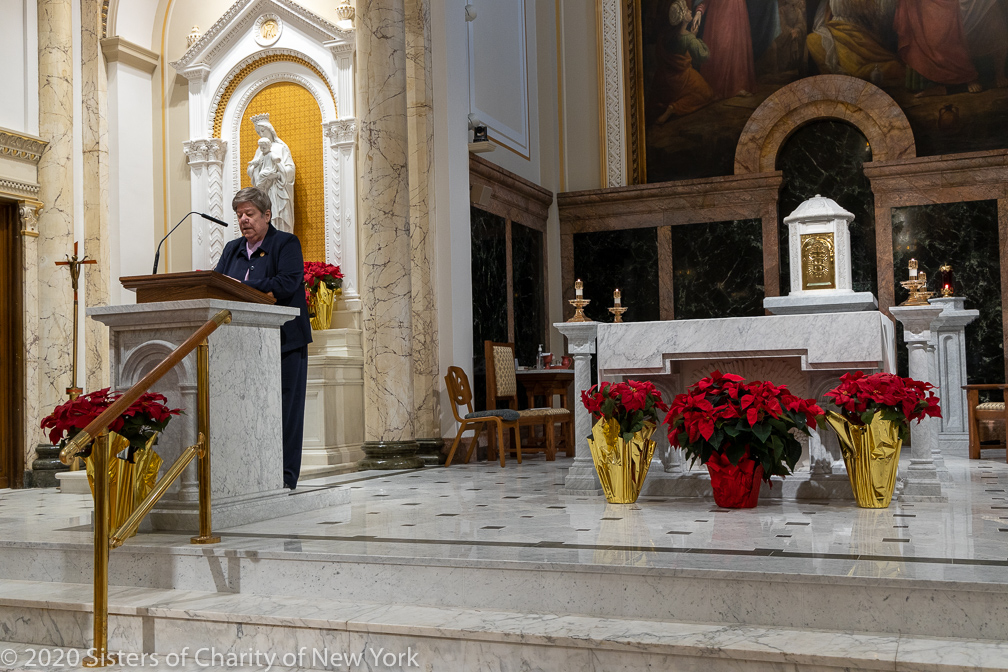 Sisters of Charity Renew Tradition and Vows on the Solemnity of the Immaculate Conception