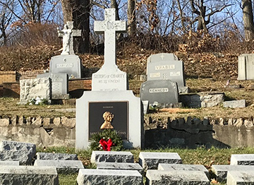 Christmas Season Visits to Our Sisters' Grave Sites