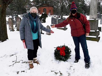 Christmas Cemetery Visit St. Peter