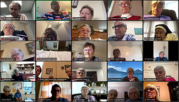 Historic Zoom Meeting Joins Congregation in Advent Waiting
