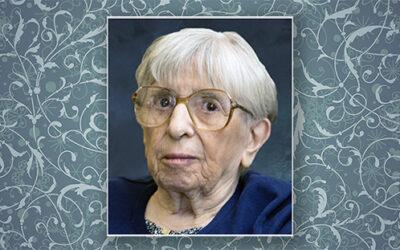 In Memoriam: Sister Maria Louis Octavio, SC
