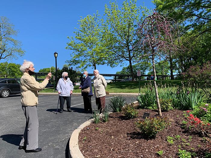 Sister Elizabeth Judge Garden Dedication
